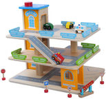 Gerardos Toys Wooden Parking Garage 39263