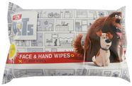Universal The Secret Life Of Pets Hand & Face Wipes 72pcs