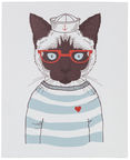 Home4you Picture Smart 20x25cm Cat Glasses