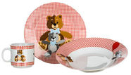 Banquet Teddy Bear Childrens Dinner Set