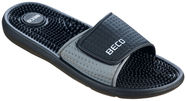 Beco 90617 Massage Slippers Black Grey 44