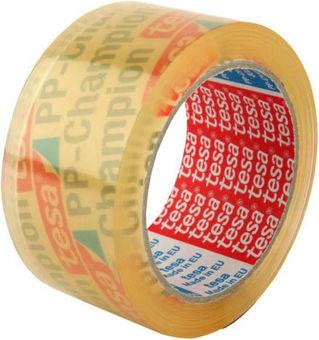 Tesa Carton Sealing Tape Universal Transparent (TE04280C)