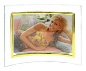 Avatar Photo Frame Glass Golden 15x10cm