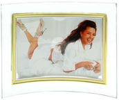 Avatar Photo Frame Glass Golden Bent 10x15cm