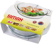 Simax Casserole With Lid 2l