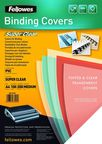 Fellowes Transparent PVC Binding Cover 5376001