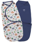Summer Infant SwaddleMe Original Swaddle 2pcs Small Into The Woods
