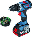 Bosch GSR 18V-60 C Cordless Drill with Accessories