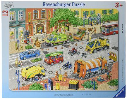 Ravensburger Frame Puzzle Living City 12pcs 061358