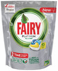 Fairy Dishwashing Tablets All In One Platinum Lemon 45pcs