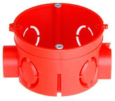Verners Mounting Box D68 H42 Red