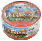 Princess Premium Classic Chicken & Tuna With Rice & Crabstick 170g