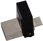 Kingston 64GB DataTraveler microDuo USB 3.0 + Micro USB Black