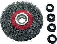 Proline Crimped Wire Wheel Brush 125mm