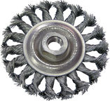Proline Twist Knot Wire Wheel Brush 100mm