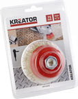 Kreator KRT150202 Abrasive Copper Brush 75mm