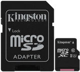 Kingston Canvas Select microSDXC 64GB UHS-I Class 10 + SD Adapter