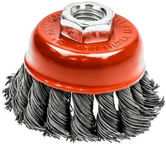 Ega Twisted Steel Wire Cup Brush 125mm