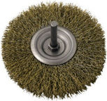 Ega Brass Rotary Brush 75mm