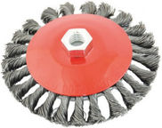 Ega Twisted Steel Wire Brush 100mm