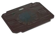 "Omega Laptop Cooling Pad 9""-17'' Black"