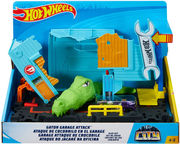 Mattel Hot Wheels City Themed Asst Gator Garage Attack FNB05