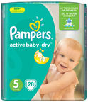 Pampers Active Baby-Dry S5 28
