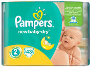Pampers New Baby-Dry S2 43