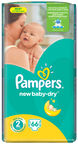 Pampers New Baby-Dry S2 66