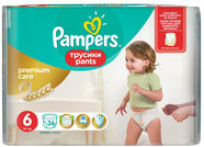 Pampers Pants Premium Care S6 36