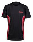 Sparco Gaming T-shirt GT Vent Black/Red L