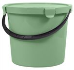 Plast Team Bucket With Lid Mix 10l