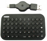 Gembird Bluetooth Mini Flexible Keyboard US Black