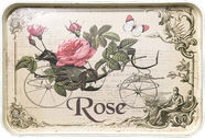 Home4you Serving Tray Rose 42x28cm Beige