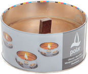 Home4you Polar Windproof Garden Candle D15.5xH7.5cm / 10h TA11015