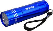 Accura ACC3303 1W Flashlight 9LED 3xAAA Blue