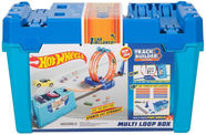 Mattel Hot Wheels Track Builder Multi Loop Box FLK89