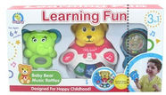 Diana Learning Fun Baby Bear Music Rattles 3-in-1 111028