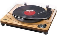 ION Air LP Wireless Streaming Turntable Wood