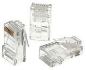 A-Lan Plug CAT 5e UTP 100pcs