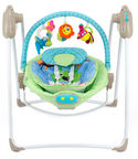 Milly Mally Swing/Rocker 2in1 Sweet Dreams Blue/Green 0513