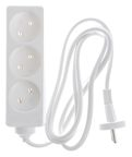 Okko Power Strip 3-Outlet 250V 16A 1.5m