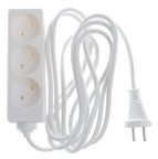 Okko Power Strip 3-Outlet 250V 10A 3m