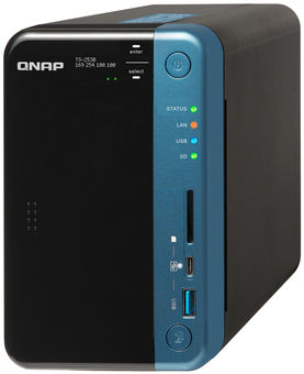 QNAP Systems TS-253B-4G 2-Bay NAS 1TB SSD