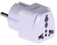 Akyga Adapter US/AU/UK to EU White