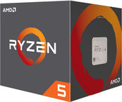 AMD Ryzen 5 2600 3.4GHz 16MB w/Wraith Stealth Cooler BOX YD2600BBAFBOX