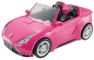 Mattel Barbie Convertible Car 	DVX59
