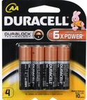 Duracell AA Alkaline Plus Power x4