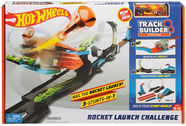Mattel Hot Wheels Track Builder Rocket Launch Challenge Playset FLK60
