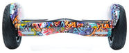 Visional Hoverboard 10.5'' With Bluetooth Orange Graffiti